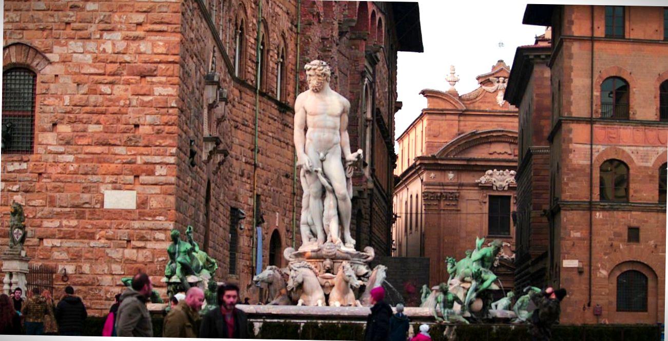 Фонтан Флоренции.