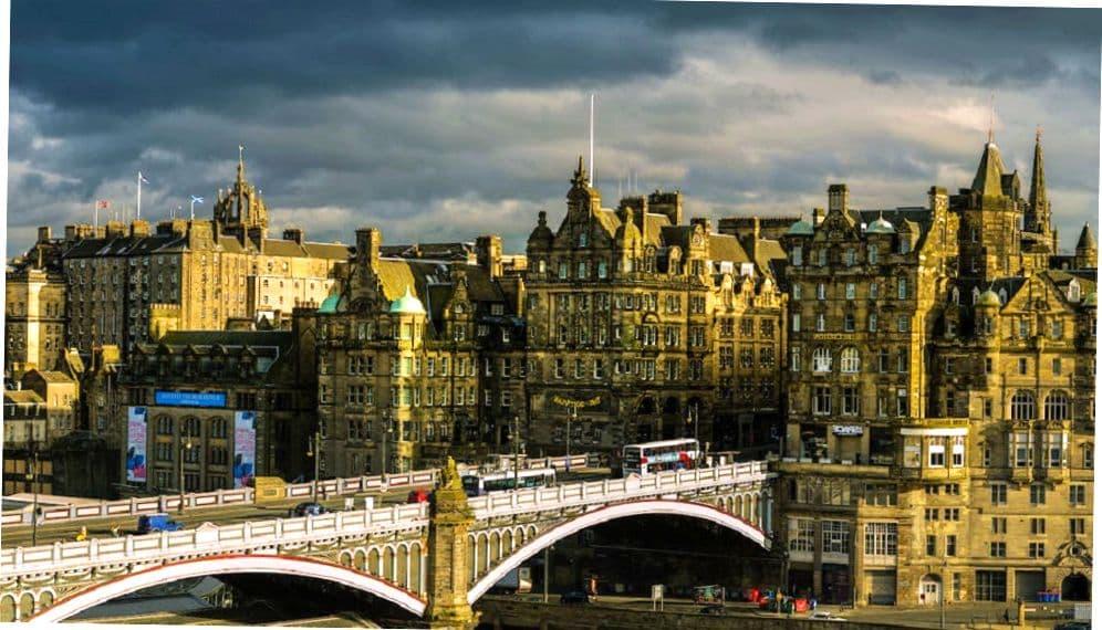 Шотландская городская архитектура