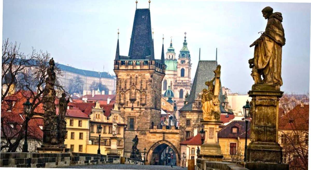 Мост в Праге.